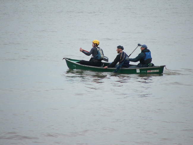 Three Men in a Boat...
