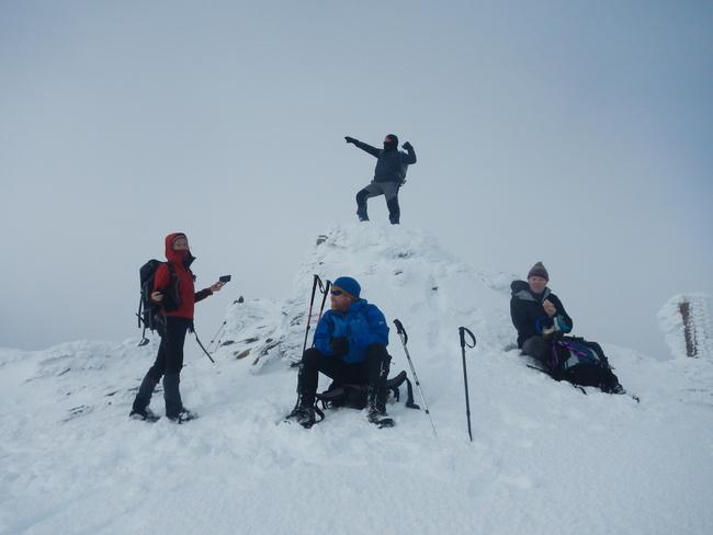 Summit of Creag Pitridh