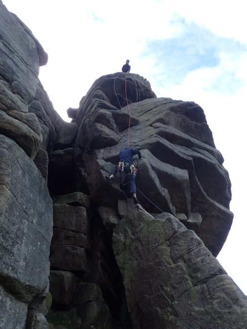 Jake on 'Flying Buttress'