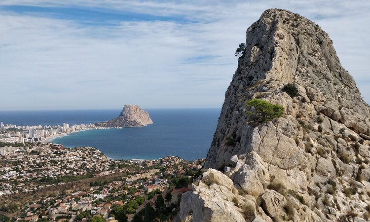 Calpe from Toix Ridge
